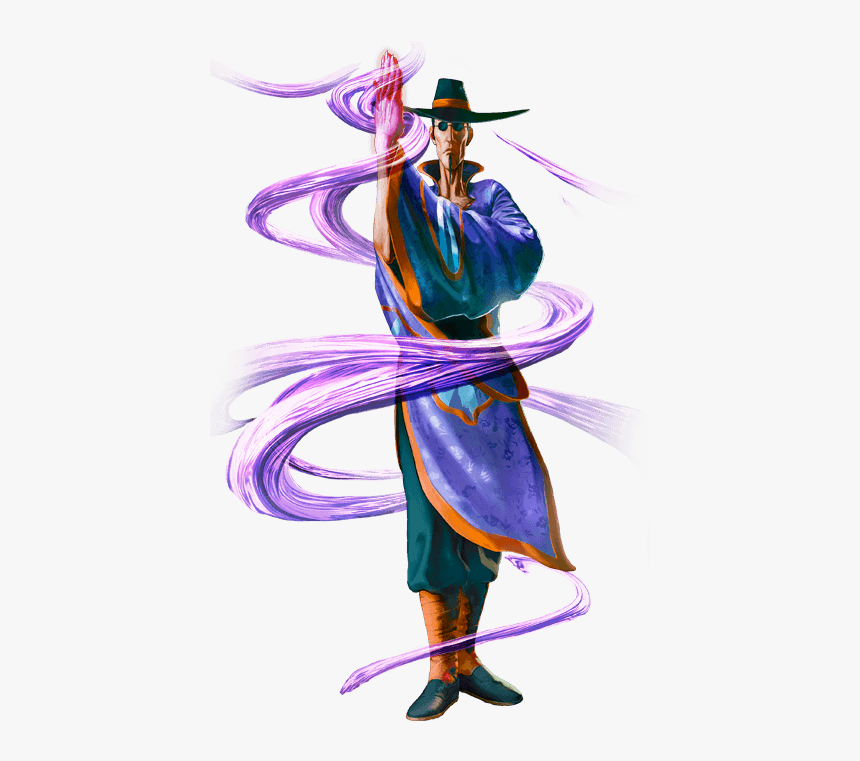 transparent street fighter 5 characters