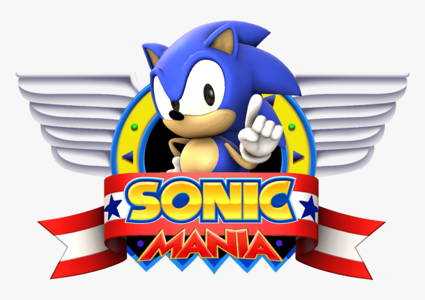 Sfm Sonic Mania Title Screen Remake By Blueeyedthunder Sonic Mania Title Screen Hd Png Download Transparent Png Image Pngitem