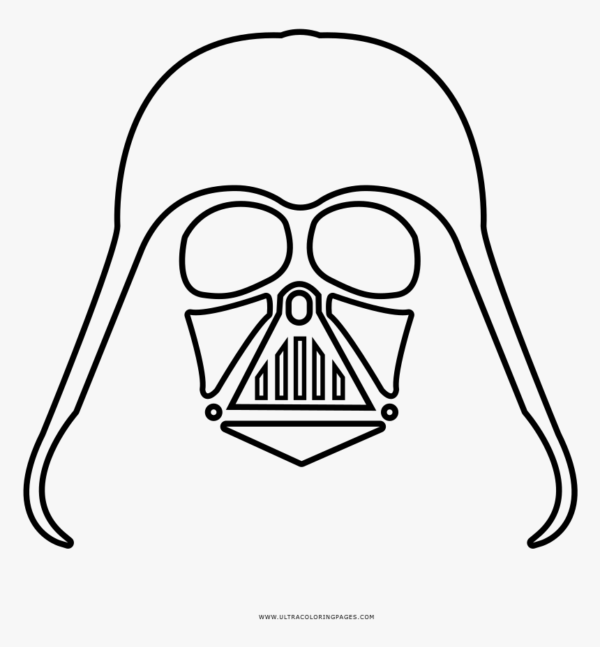 Star Wars Darth Vader coloring pages | 928x860