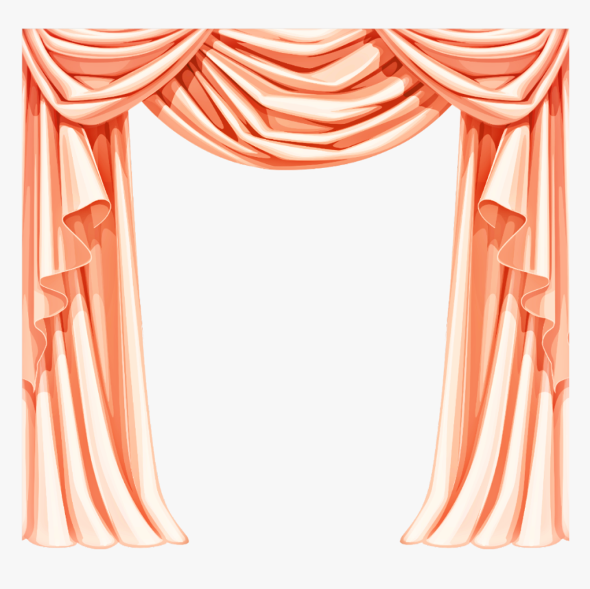 Pink Curtain Png