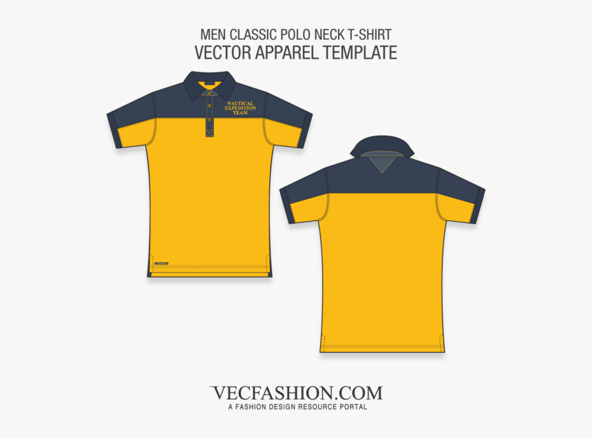 Polo Shirt Vector Ai