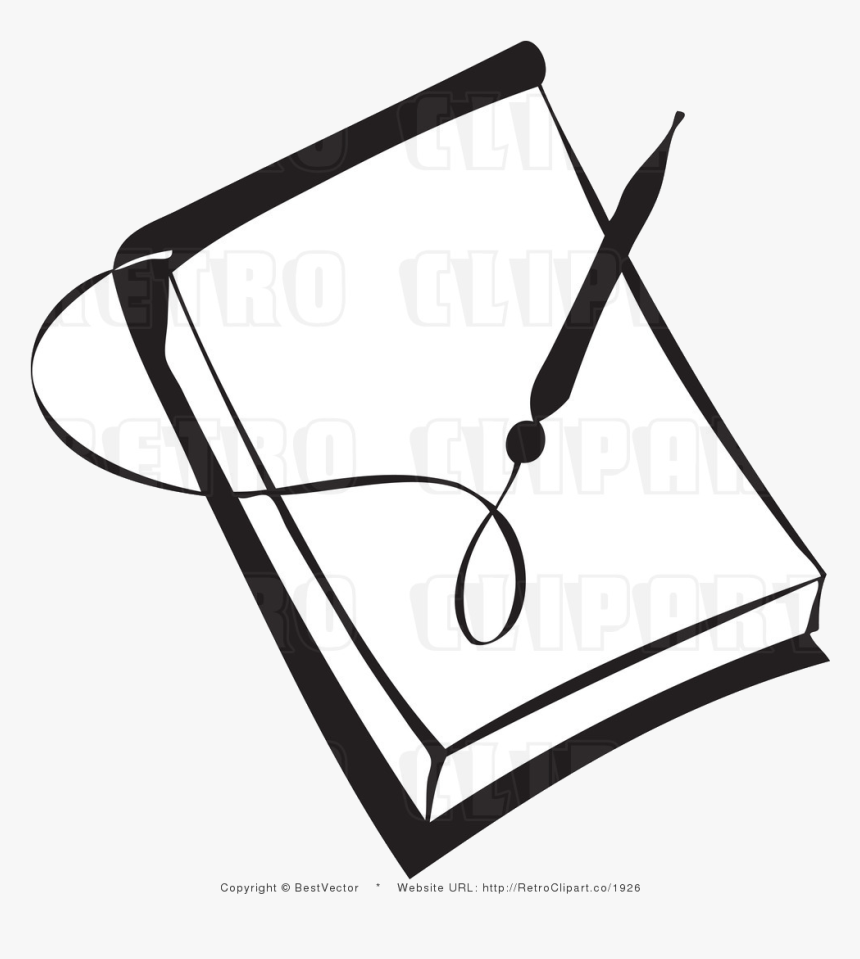 pencil and paper pen clipart transparent png notebook black and white png png download transparent png image pngitem pencil and paper pen clipart