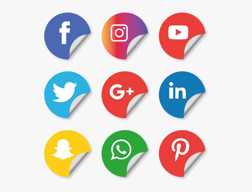 Social Media Icons Setfacebook Instagram Whatsapp Transparent Background Social Media Logos Hd Png Download Transparent Png Image Pngitem