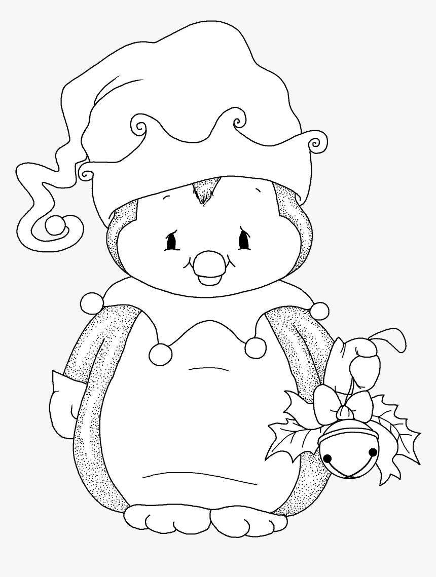 Desenhos De Pinguim Para Colorir Hd Png Download Transparent