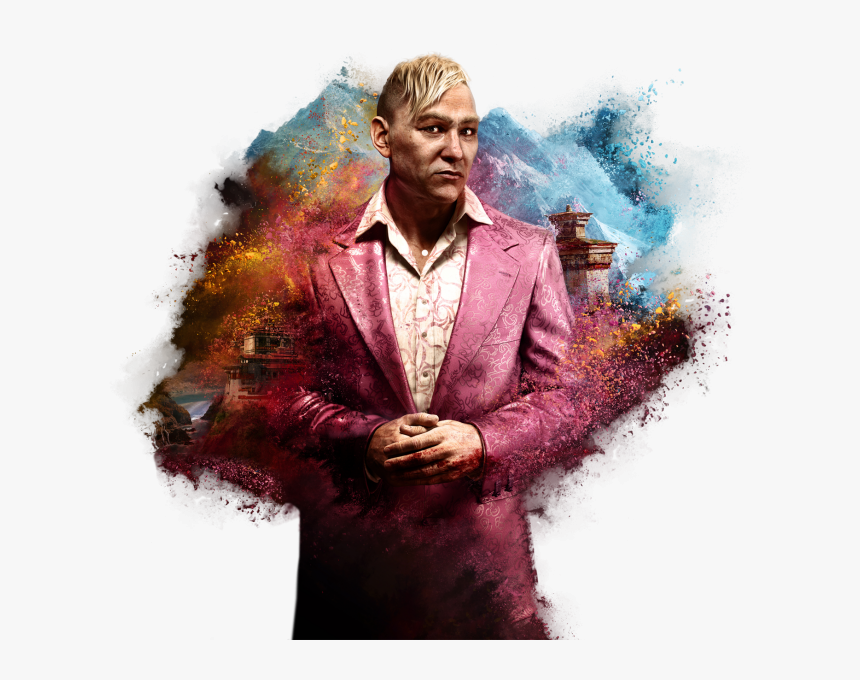 transparent far cry 4 characters