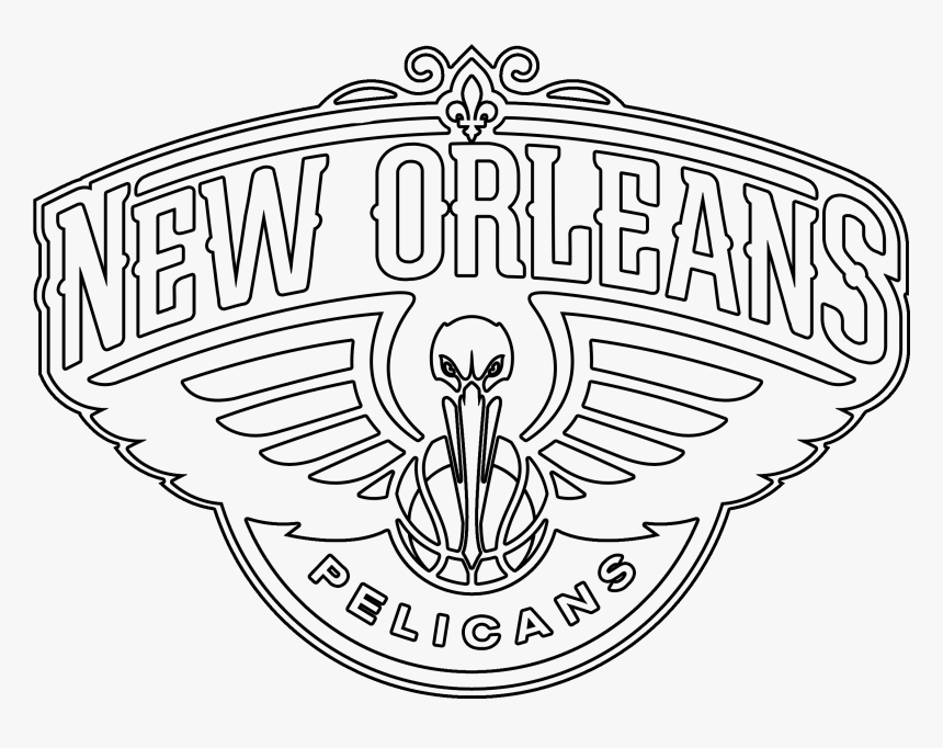 Pelican Png Black And White New Orleans Pelicans Vector
