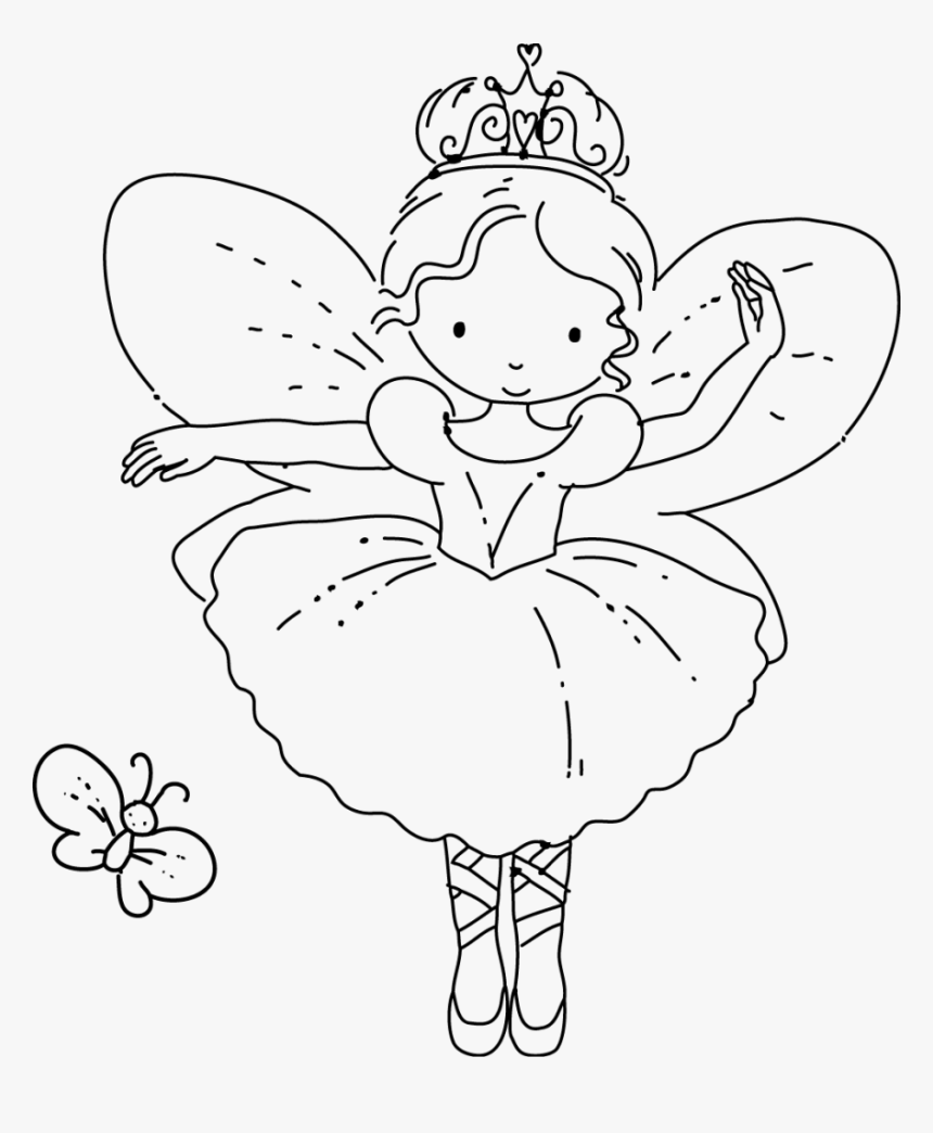 Color Tooth Fairy Coloring Pages Fresh - Simple Fairy Coloring ...