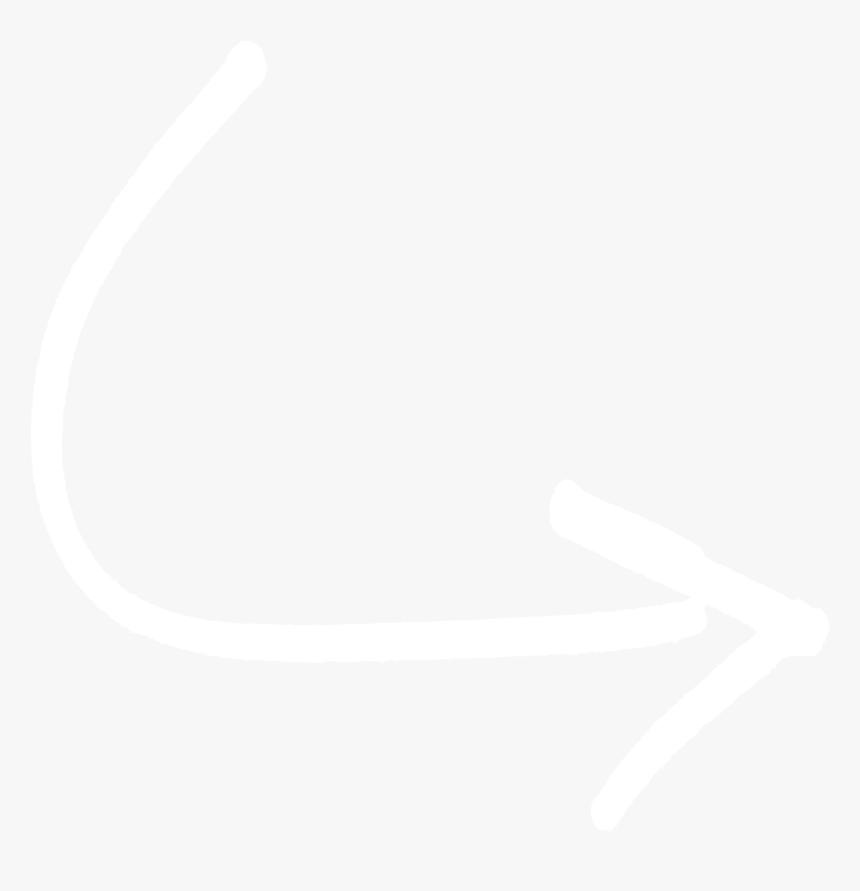 White Curved Arrow Png Illustration Transparent Png