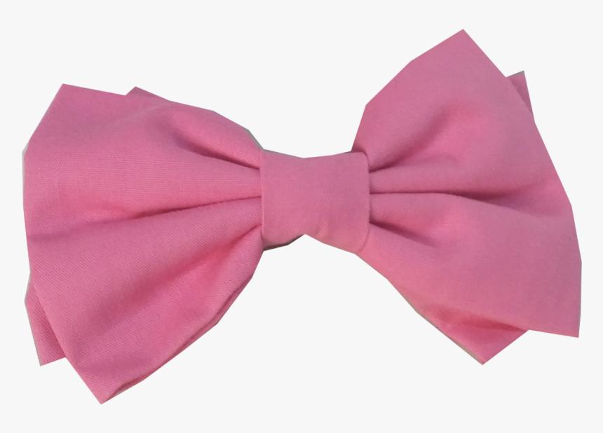 Bow Tie Ribbon Lazo Pink Hair Laco De Cabelo Rosa Hd Png