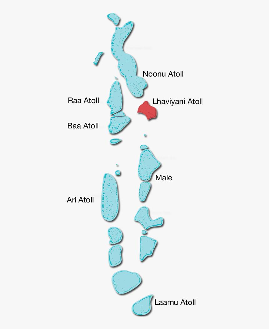 Raa Atoll Maldives Map Hd Png Download Transparent Png