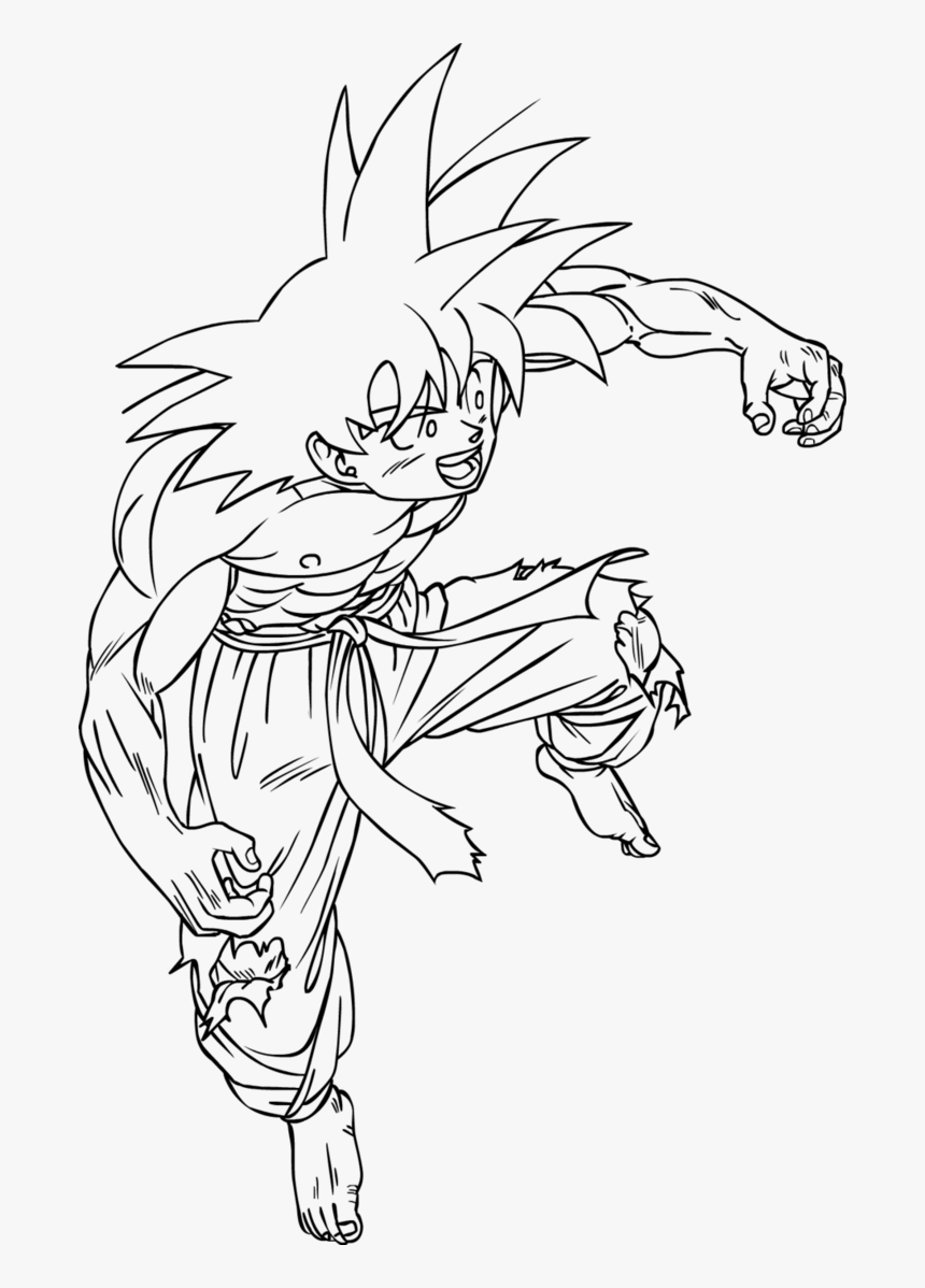 Free Printable Dragon Ball Z Dragon Ball Z Coloring Pictures Trunks Hd Png Download Transparent Png Image Pngitem