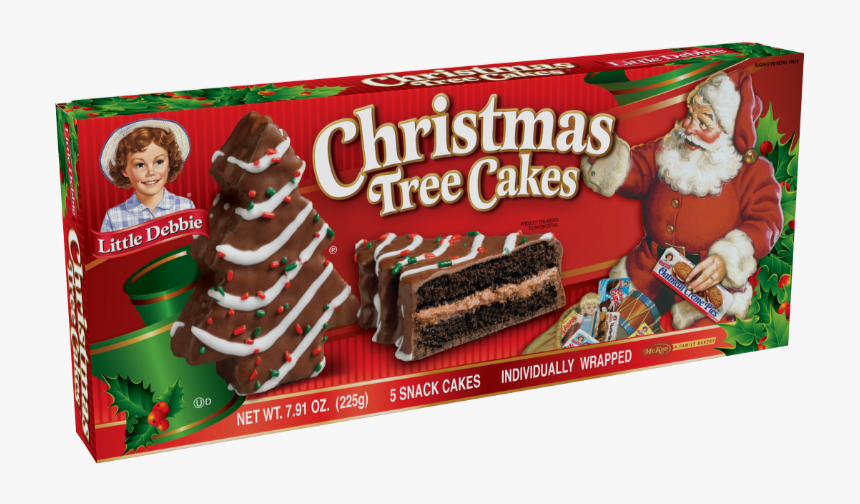 Little Debbie Christmas Tree Cakes Vanilla, HD Png Download