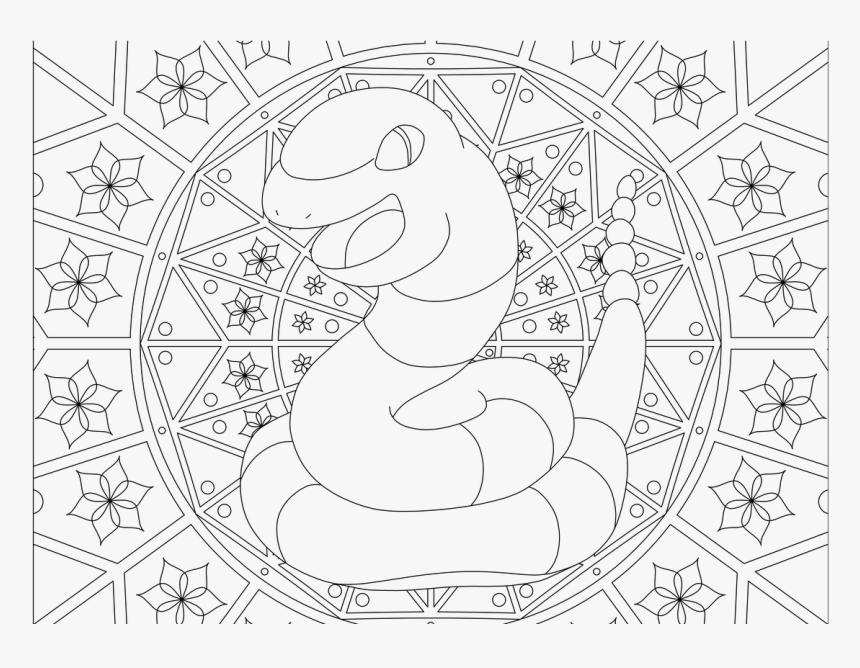 Pattern Pokemon Colouring Pages Png Download Adult Pokemon