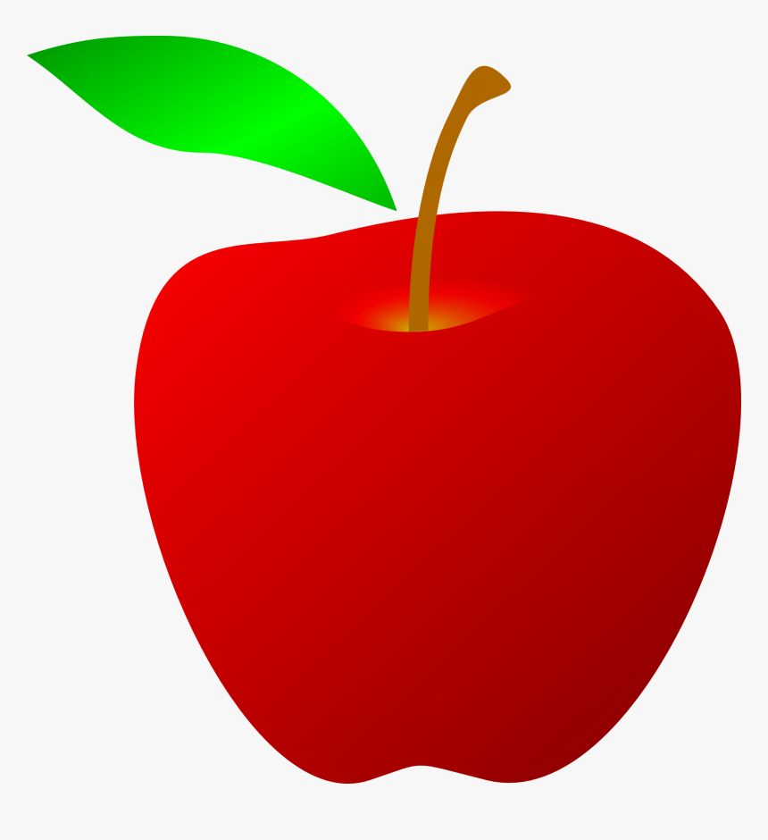 Free Clipart Of Red Apple Red Clipart Appl Hd Png Download Transparent Png Image Pngitem