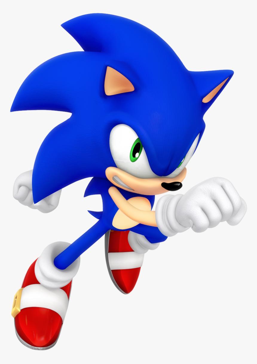 Modern Sonic The Hedgehog Hd Png Download Transparent Png Image Pngitem