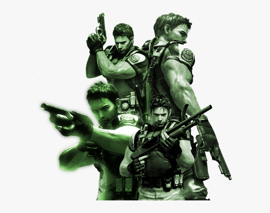 Chris Redfield Png Download Resident Evil 5 Chris Redfield Png