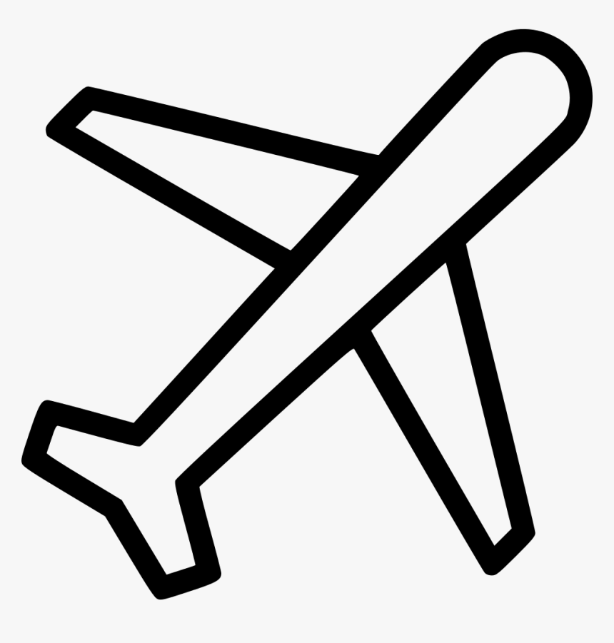 Transparent Travel Icons Png Air Plane Drawing Easy Png