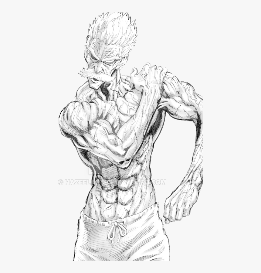 One Punch Man Png Clipart Royalty Free Library Bang All One Punch Man Drawing Transparent Png Transparent Png Image Pngitem