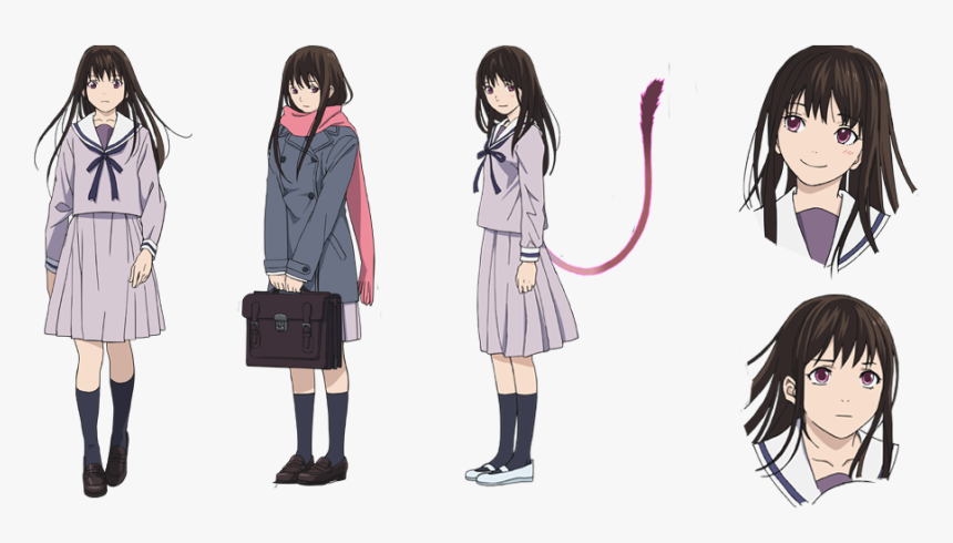 Character Design Yato Long Brown Hair Anime Characters Hd Png Download Transparent Png Image Pngitem
