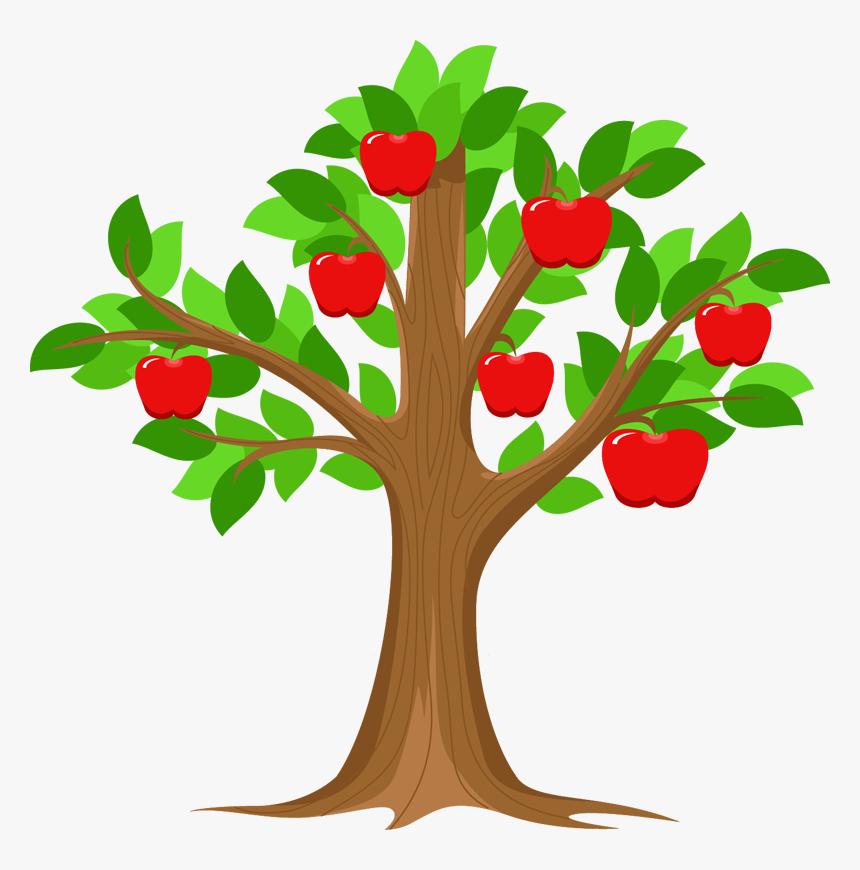 Branch Apple Id Tree Clip Art Cartoon Apple Tree Clipart Hd Png Download Transparent Png Image Pngitem