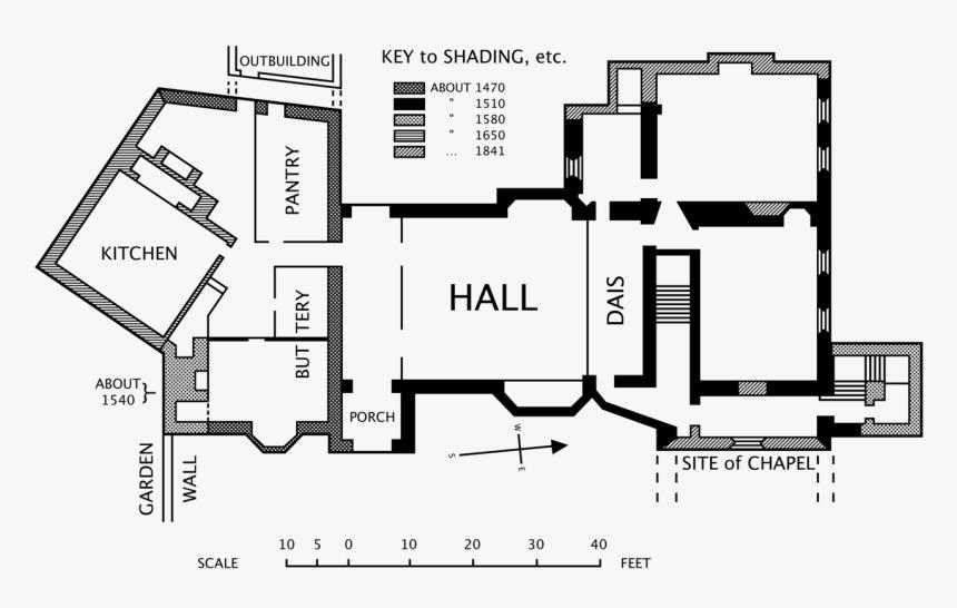 Floor Plan Medieval House Floor Plan Hd Png Download