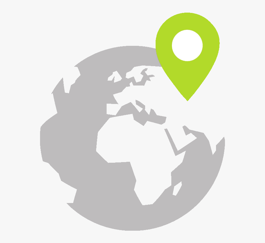 Global Map Logo , Png Download - World Icon, Transparent Png ...