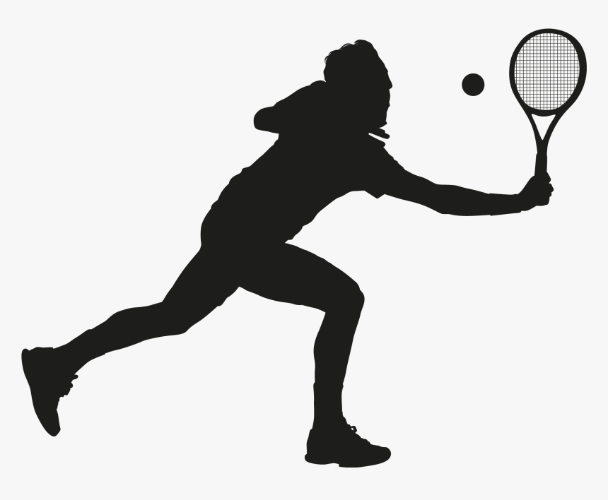 Clip Art People Playing Tennis Clipart Cartoon Of Person Playing Tennis Hd Png Download Transparent Png Image Pngitem