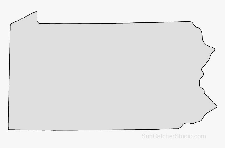 Transparent Square Outline Png Shape Of Pennsylvania Transparent Png Download Transparent Png Image Pngitem