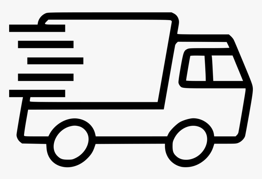 Express Truck Delivery - Delivery Truck Line Icon, HD Png Download ,  Transparent Png Image - PNGitem