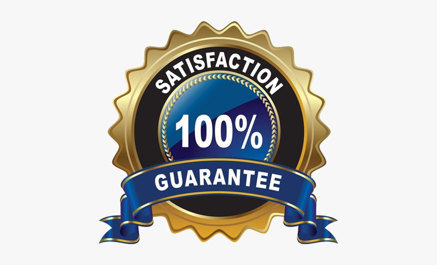 100 Guarantee Logo Png, Transparent Png , Transparent Png Image - PNGitem