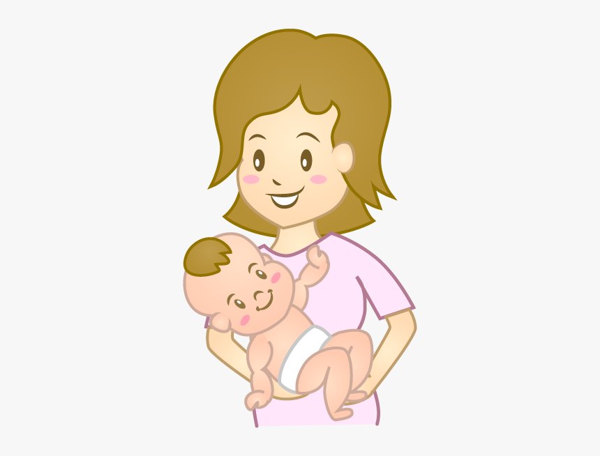 Mothers Clipart Baby Girl Cartoon Hd Png Download Transparent Png Image Pngitem