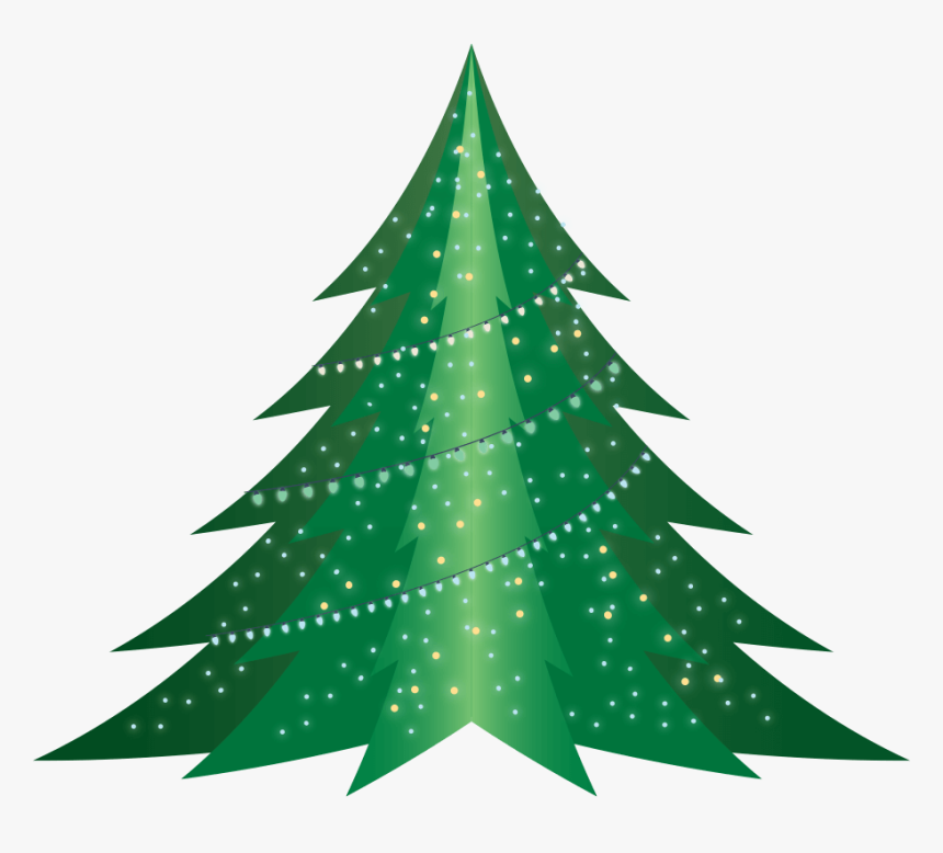 Arvore De Natal Desenho Animado Hd Png Download Transparent Png