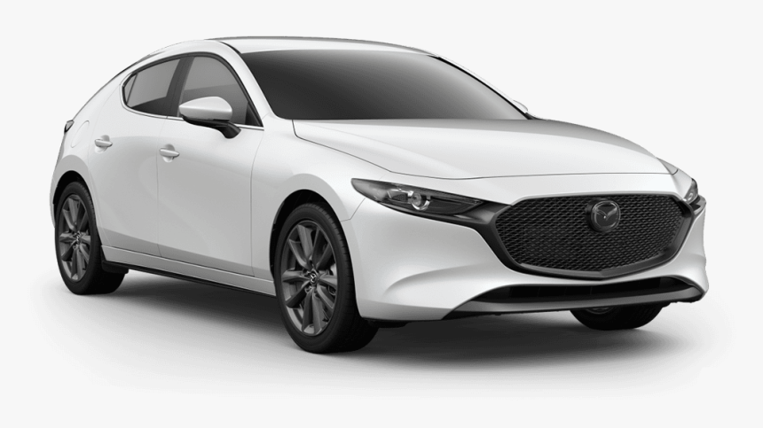 Mazda 3 2019 White, HD Png Download