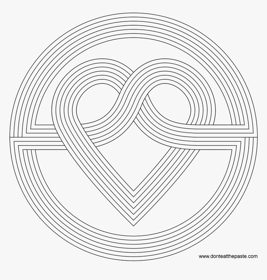 - Patterns Coloring Pages - Rainbow Patterns Coloring Page, HD Png Download ,  Transparent Png Image - PNGitem