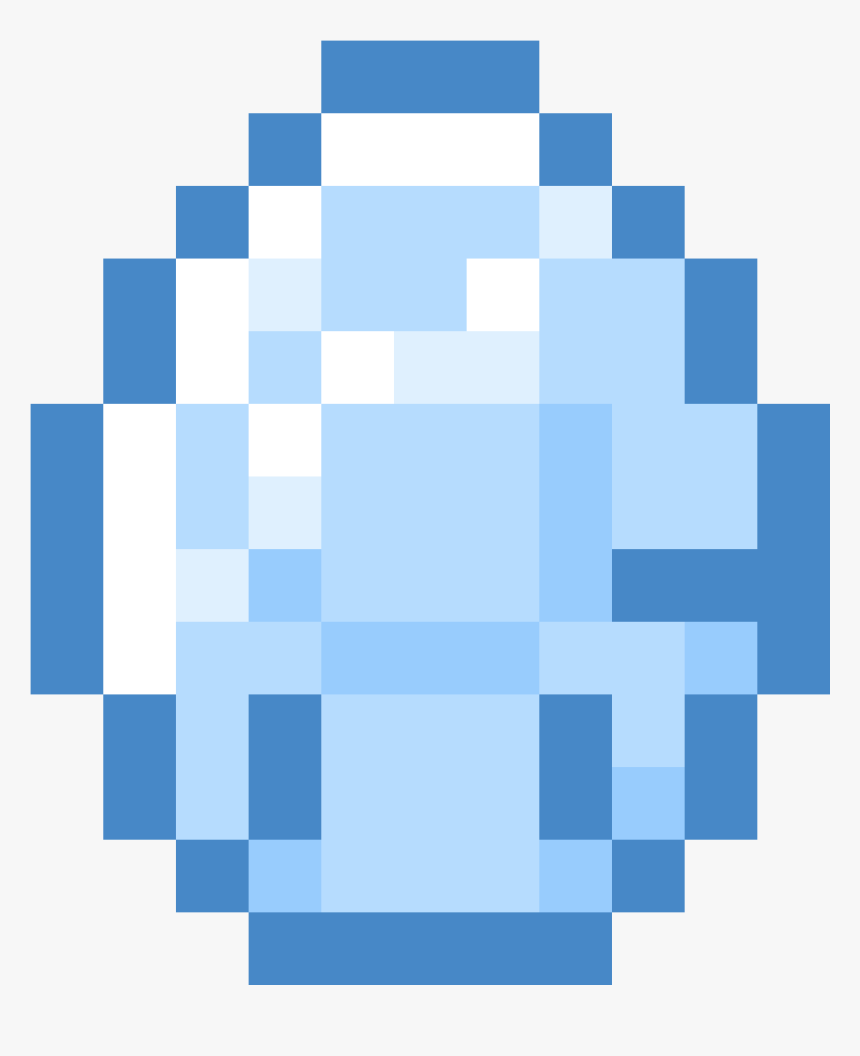 Minecraft Diamond Icon Png And Vector Minecraft Diamond No