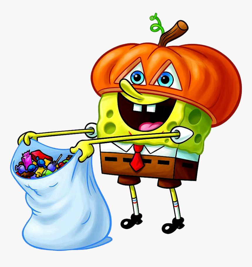 Bob Esponja Em Png Halloween Spongebob Coloring Pages Transparent Png Transparent Png Image Pngitem