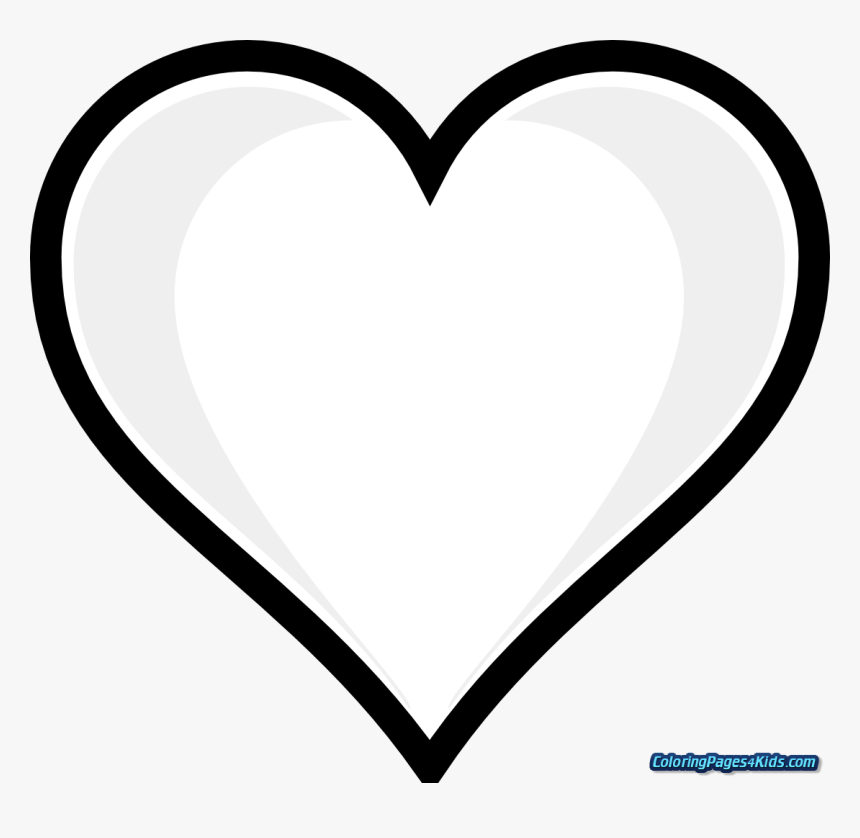 Heart On Fire Printable Coloring Pages With Hearts Full Page