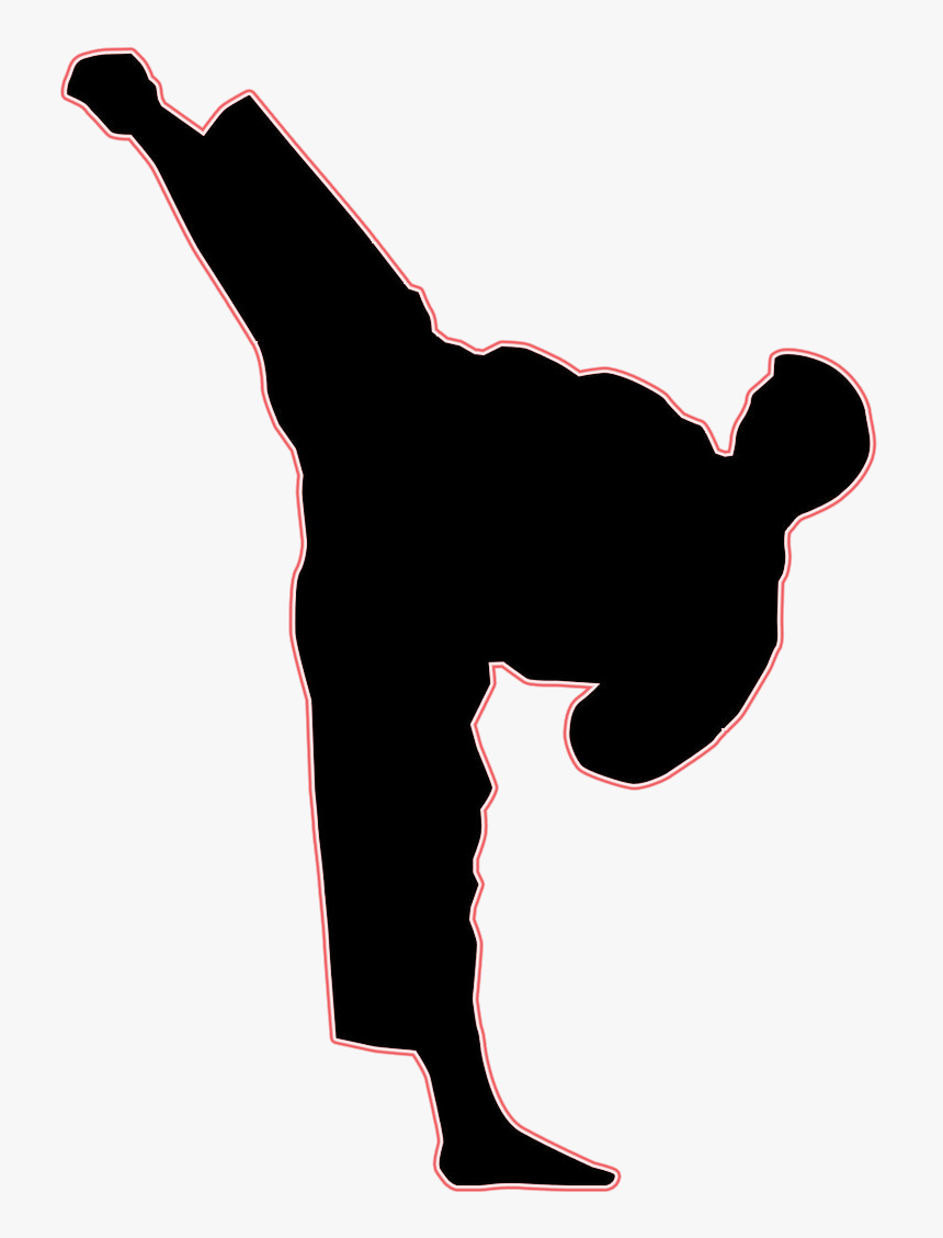 Clip Art Kick Mixed Martial Arts Karate Karate Sidekick Clipart Hd Png Download Transparent Png Image Pngitem