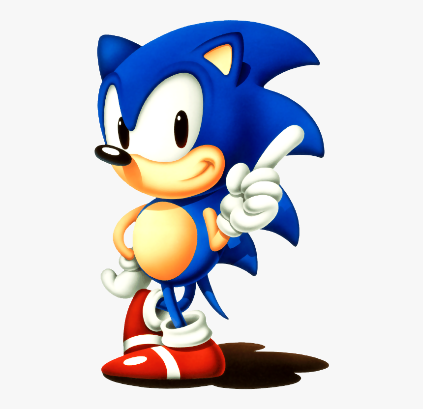 Gangster Sonic Png Svg Free Library Classic Sonic The Hedgehog Sega Transparent Png Transparent Png Image Pngitem