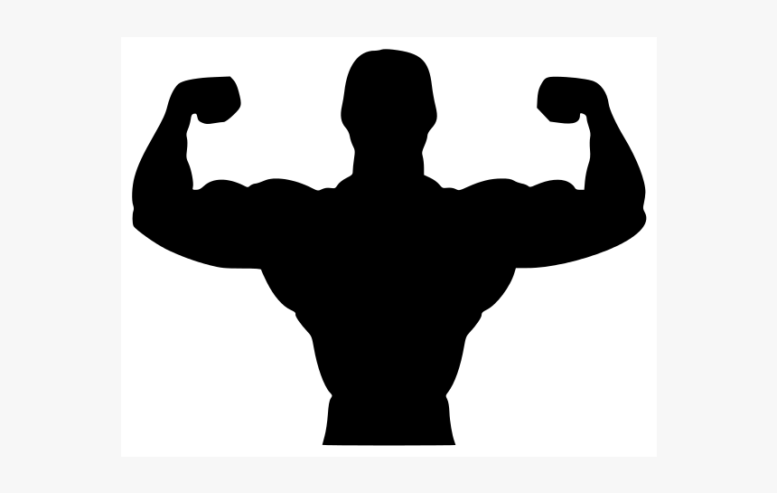 Fitness Silhouette Png Body Builder Clip Art Png Transparent Png Transparent Png Image Pngitem