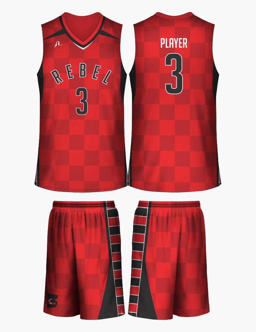 Basketball Jersey Red Design Hd Png Download Transparent Png Image Pngitem