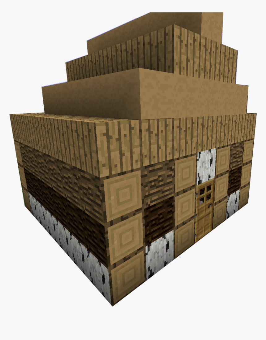 Minecraft House Png Minecraft Wooden House Png Transparent Png Transparent Png Image Pngitem