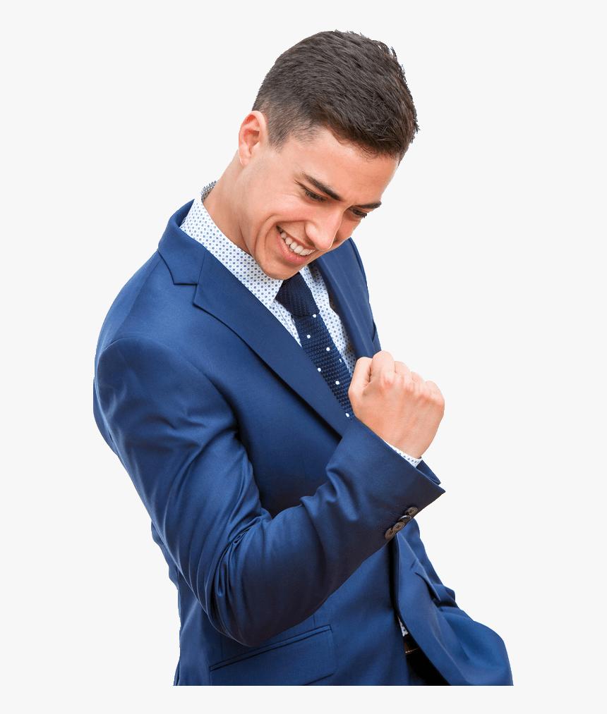 Businessman Celebrating Success Facial Expression Hd Png Download Transparent Png Image Pngitem