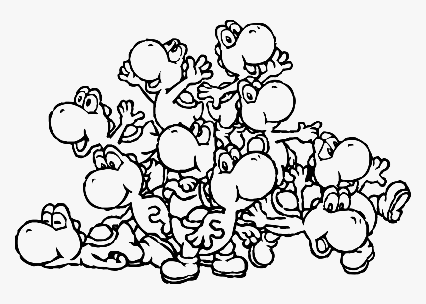 Yoshi Coloring Pages To Print Mario Kart Yoshi Coloring Pages