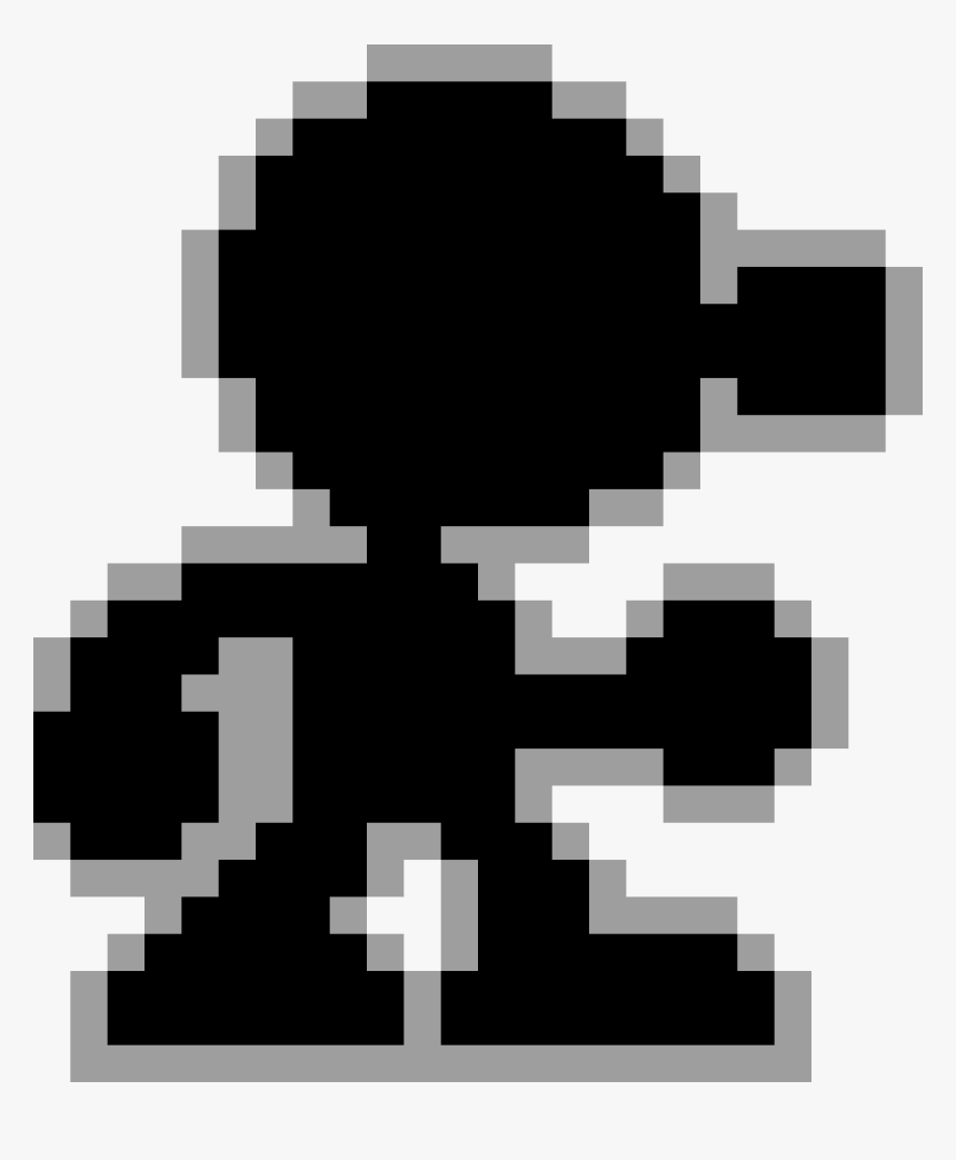 Pixel Mr Game And Watch Png Transparent Png Transparent Png