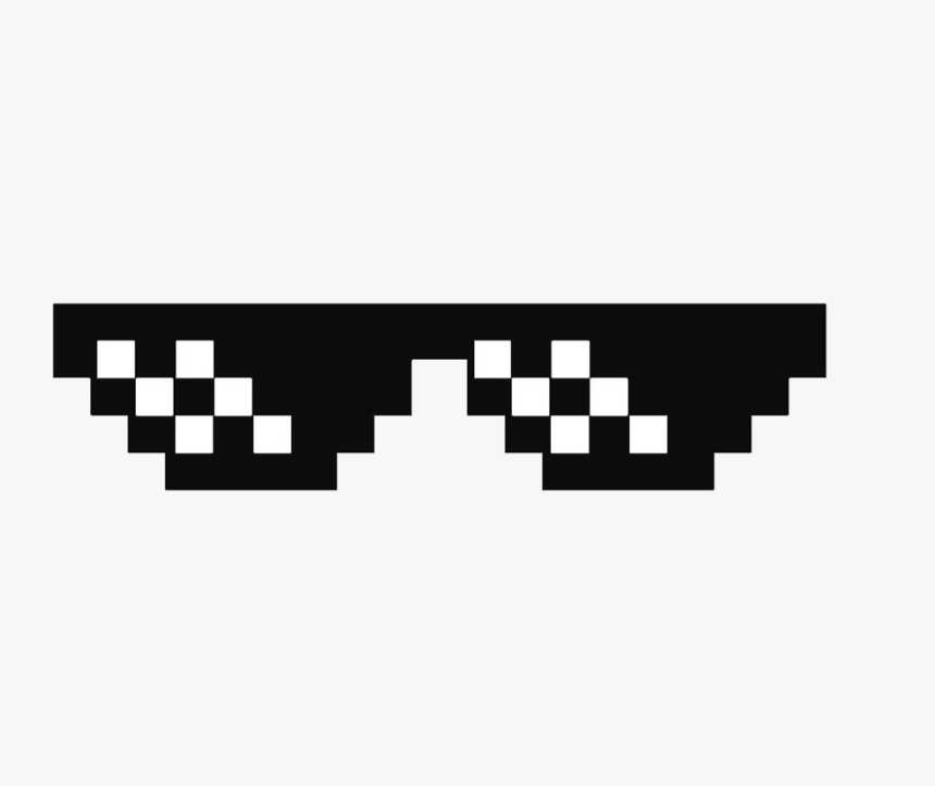 Deal With It Glasses Thug Life Sunglasses By Swagasaurus Deal With It Glasses Hd Png Download Transparent Png Image Pngitem
