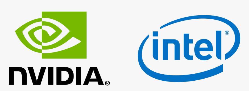 Výsledok vyhľadávania obrázkov pre dopyt nvidia intel logo