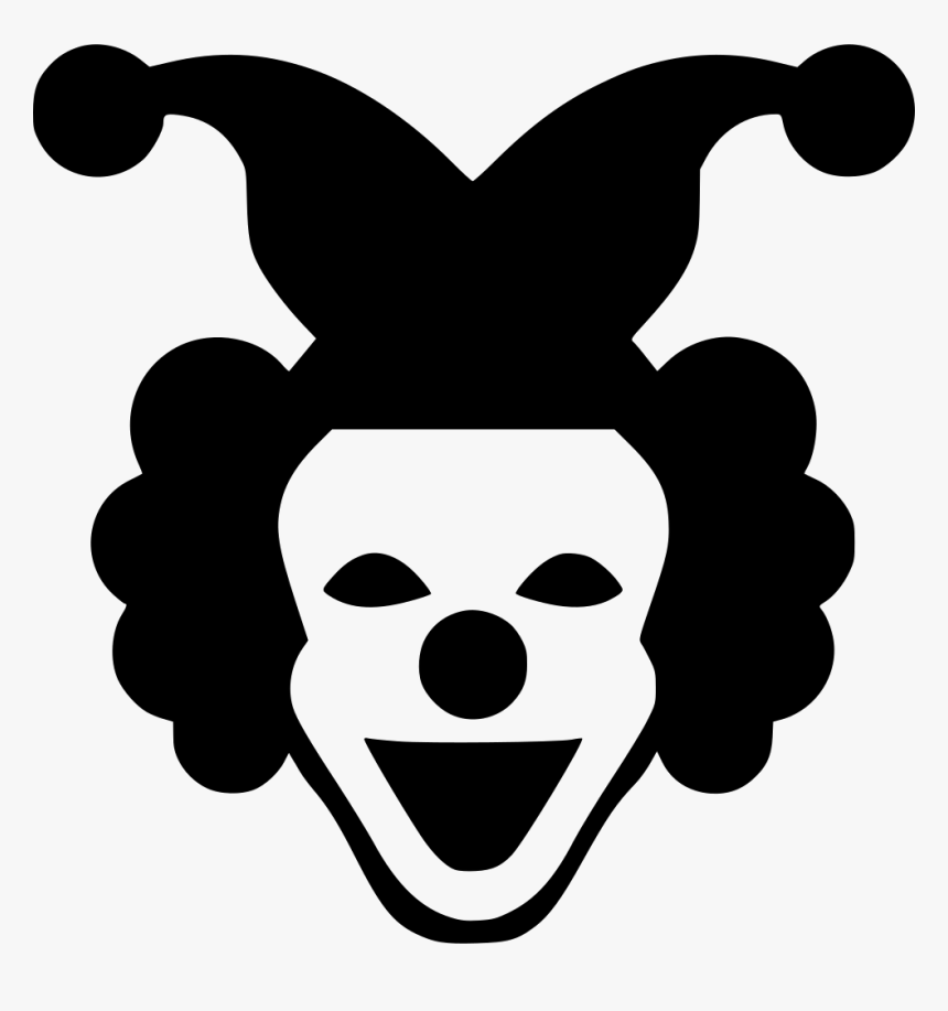 Joker Face Smile Hero Smiley Joker Clipart Black And White Hd Png Download Transparent Png Image Pngitem
