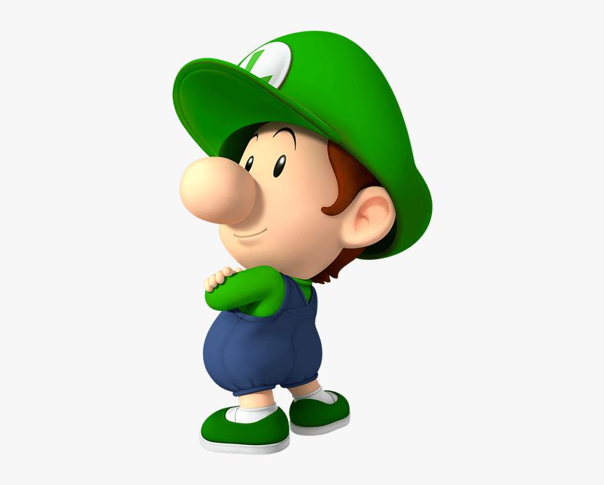Super Mario Baby Luigi Hd Png Download Transparent Png