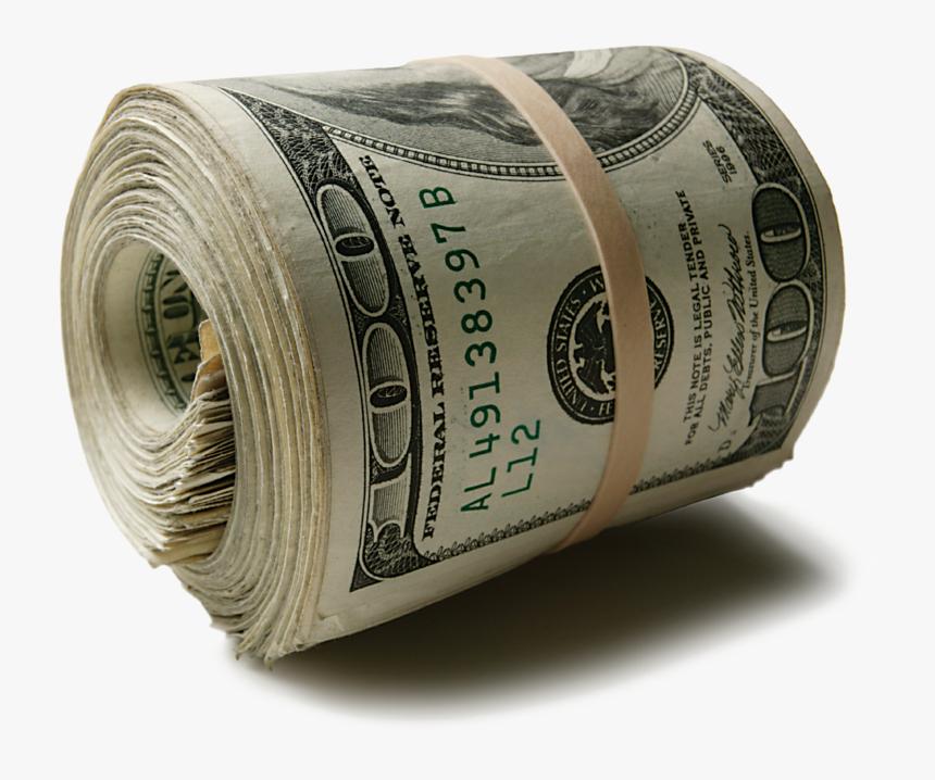 Transparent Roll Of Money Png - Roll Of Money Png, Png Download ,  Transparent Png Image - PNGitem